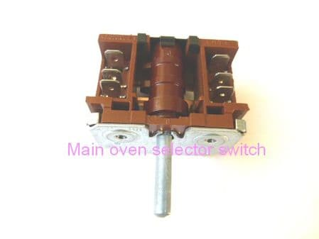Vestfrost main oven selector switch SWBK3100004