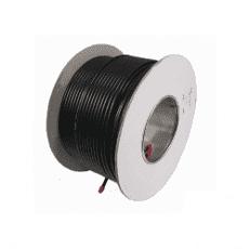 Cable 50M x 1.5mm 4 Core black