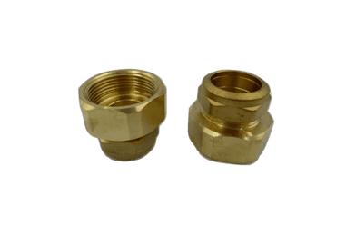 Copper adaptor 28mm to 1 ¼ inch female