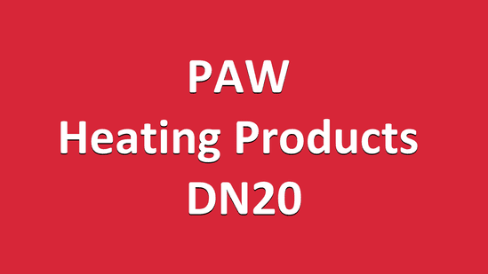 PAW Heating Products DN20