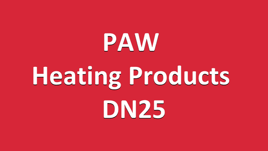 PAW Heating Products DN25