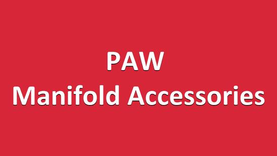 PAW Manifold Accessories