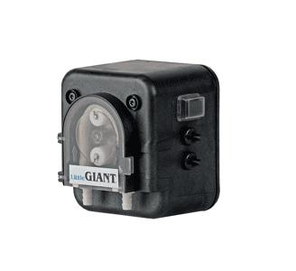 Peristaltic pump with temp sensors