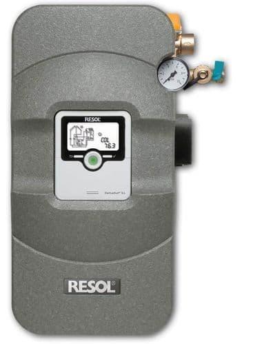 Resol Flowsol B HE twin line Pumpstation & DeltaSol SLL