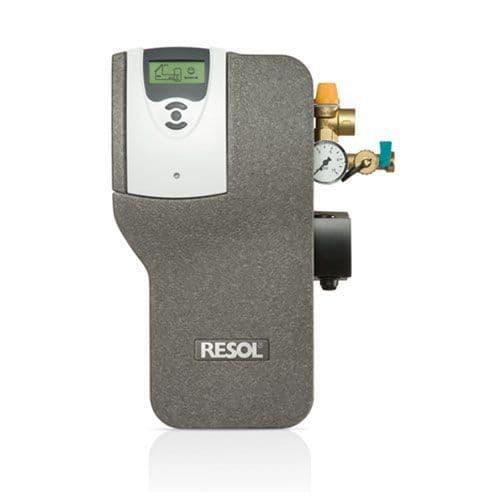 Resol Flowsol S HE single line Pumpstation & CS4 controller