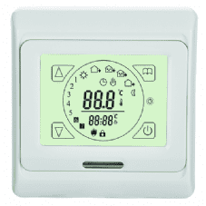 Touch Screen Programmable Stat 240v
