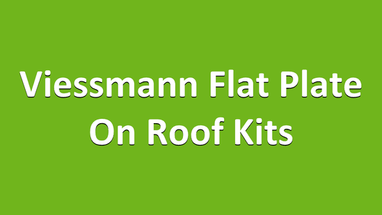 Viessmann Flat Plate on roof