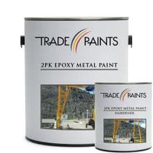 2 Pack Epoxy Top Coat  Metal Paint