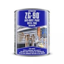 Action Can ZG-90 Brushing Galvanise Black Paint