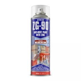 Action Can ZG90 Red Aerosol | paints4trade.com