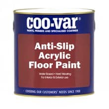 Coo-Var Acrylic Anti Slip Floor Paint