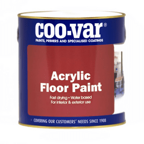 Coo-Var Acrylic Water Based Floor Paint | www.paints4trade.com