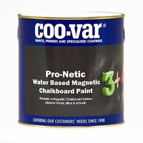 Coo-Var Pro-Netic Water Based Magnetic Chalkboard Paint | paints4trade.com