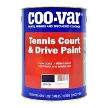 Coo-Var Tennis Court & Drive Patio Paint
