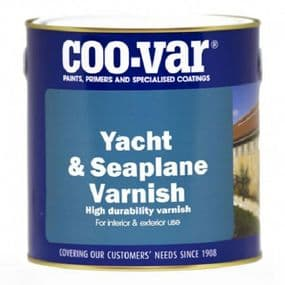 Coo-Var Yacht & Seaplane Varnish | www.paints4trade.com