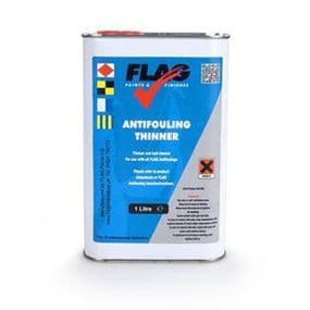 Flag Antifouling Thinner - 1 Litre | paints4trade.com