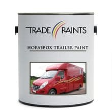 Horsebox Trailer Paint