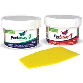 PeelAway 1 & 7 Sample Trial Tester Twin Pack Paint Remover  | paints4trade.com