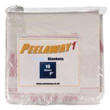 PeelAway 1 Spare Blankets Pack of 10