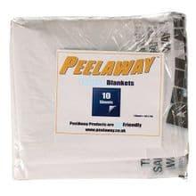 PeelAway 7 Spare Blankets Pack of 10