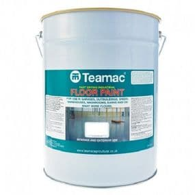 Teamac Industrial Floor Paint | www.paints4trade.com