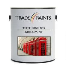 Telephone Box Kiosk Enamel Paint