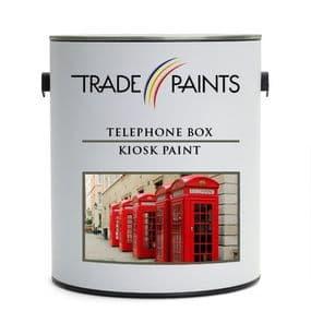 Telephone Kiosk Box Paint - Red Gloss